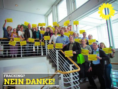 Grüne gegen Fracking (LDK Bielefeld 2015)