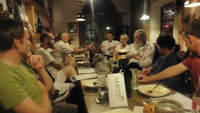 Treffen der GRÜNEN im Volmetal in der historischen Brennerei Kierspe-Rönsahl